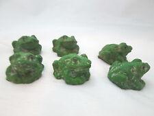 """The Spring Shop 6 - 1 1/4"""" Garden Frog - Green"""