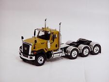 "Caterpillar CT680 8x4 Truck Tractor - ""YELLOW"" - 1/50 - WSI"