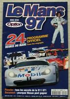 LE MANS 24 HOUR ENDURANCE CAR RACE 1997 Official Programme