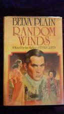 Random Winds by Belva Plain 1980 HCDJ First Edition/First Printing SIGNED
