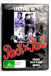 Legends Of Rock 'n' Roll - Rare DVD Aus Stock New