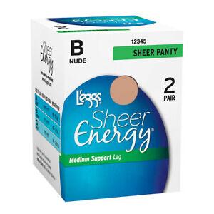 L'eggs Sheer Energy All Sheer 4 Pairs 308S