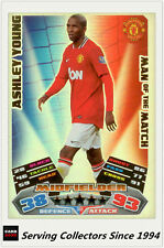 2011-12 Topps Match Attax Card Man Of Match Foil 389 Ashley Young