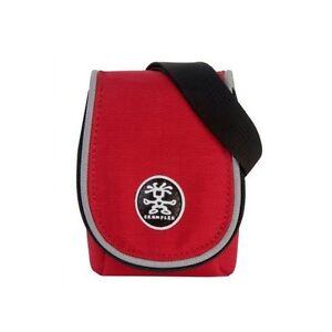 Crumpler Muffin Top 55 Red/Silver Compact Camera Case, BNIP, UK stock