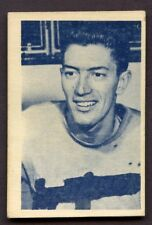 1952-53 Junior Blue Tint Hockey # 5 Al Arbour Windsor CREASE FREE