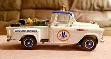 Matchbox 1957 Chevy 3100 White Diecast Pickup 1:43 American Airlines YIS04