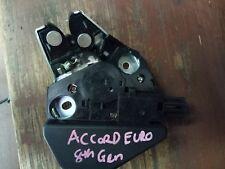 HONDA ACCORD EURO GEN 8  BOOT LID LOCK LATCH MECHENISM  GENUINE FITS 08-16