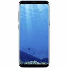 "Samsung Galaxy S8+ Plus Dual Sim G955FD 4G 64GB 6.2"" Factory Unlocked Coral Blue"