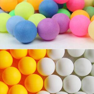 100PCS Ping Pong Balls 40mm Mixed Colours No Logo Table Tennis Beer Wholesale AA