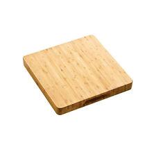 Square Bamboo Butchers Block Chopping Board Food Cutting Kitchen Worktop Saver