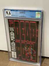 Deadpool #1 The Circle Chase CGC 9.6 1st Solo Deadpool Story! Marvel Movie MCU!