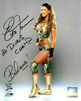 WWE EVE HAND SIGNED AUTOGRAPHED 8X10 PHOTOFILE PHOTO WITH PROOF AND COA 8