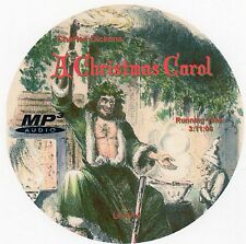 A CHRISTMAS CAROL, Charles Dickens, AudioBook MP3 CD