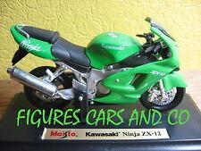 MOTO1/18 KAWASAKI NINJA ZX 12 MOTORCYCLE MAISTO