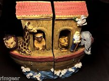Noah's Ark Bookends Dicksons Children,Kids,Baby room Bible Story Books
