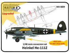 Heinkel He-111Z conversion set  - 1/48 - Master-X 4809