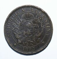 1893 Argentina 2 Two Centavos -  Lot 24