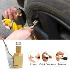 8MM Car Tyre Wheel Tire Air Chuck Inflator Pump Valve Clip Connector Adapter-RO
