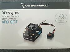 Hobbywing Xr8 SCT 140 Amp ESC Genuine Product .