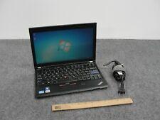 "Lenovo ThinkPad X220 12.5"" Notebook Core i7-2620M, 4GB RAM, 320GB HDD mit Ladegerät"