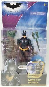 The Dark Knight Sonic Spy Batman Action Figure Mattel M5054 NRFP