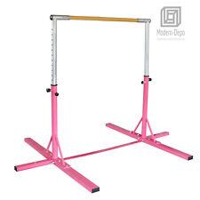Adjustable Gymnastics Training Horizontal Bar Indoor Practice Sports Equipment