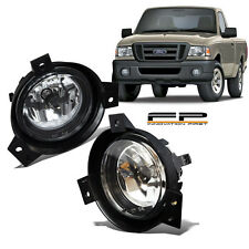 2001 2002 2003 Ford Ranger Replacement Fog Lights Clear Lens Front Lamps PAIR