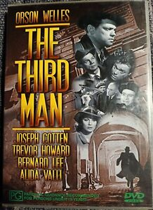 The Third Man DVD 1949 Orson Welles All Regions Like New Free Shipping