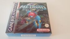METROID FUSION NEW SEALED Game boy advance nintendo gba nuevo pal rare red strip