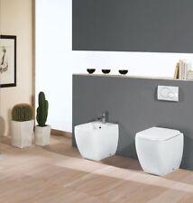 SANITARI A PAVIMENTO RAK METROPOLITAN WC + BIDET + COPRIVASO / SEDILE