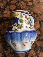 1780 GM(Georges Martel) Faience Creamer Pitcher Marked