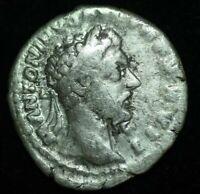 SILVER DENARIUS ANTONINUS PIUS IMPERIAL ROMAN COIN  - VERY FINE