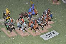 25mm medieval / generic - knights 10 figs - inf (12968)