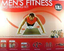 MEN's FITNESS TRAINING KIT with Book, DVD, CD & Equipment FAST N POST