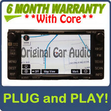TOYOTA Sienna Navigation GPS System JBL Radio CD Player E7007 OEM audio stereo