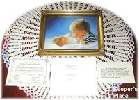 Donald Zolan BROTHERLY LOVE Framed Signed Lithograph Print COA Brochure Box New