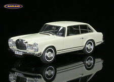Mercedes-benz 230 SLX Frua combi Coupe 1966 blanco/White, matriz 1:43, New, embalaje original
