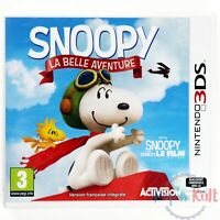Jeu Snoopy : La Belle Aventure [VF] sur Nintendo 3DS NEUF sous Blister