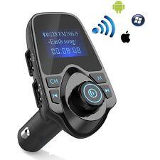 Bluetooth Wireless FM transmitter Modulator for iPhone 7 Red 6S Plus LG V20 V10
