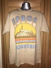 DISNEY SPACE MOUNTAIN ATTRACTION ADULT T-SHIRT NWT - SMALL
