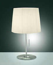 Fabas Luce Retrofit Lampe de table Dorotea 1flg. E27 2960-30-178 Abat-jour beige
