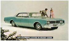 1966 Oldsmobile JETSTAR 88 HOLIDAY SEDAN Dealer Promotional Postcard UNUSED VG+