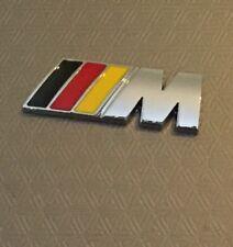 1 X ///M Sport M Power German Flag Wings Metal Badge BMW 1,2,3,4 5 X5 UK Stock