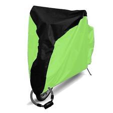 Cubiertas verde para bicicletas