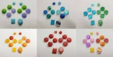Any Color Custom Nintendo Switch Joy Con ABXY DPAD Replacement Buttons Gamecube