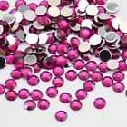 2000pcs Crystal Flat Back Rhinestones Gems Diamante Bead Nail Art Crafts 2MM