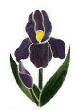 Stained Glass Supplies - CLUSTER-PURPLE IRIS (Free Shipping)
