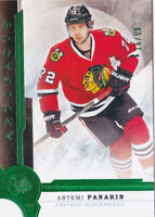 16-17 Artifacts Artemi Panarin /99 EMERALD Green Blackhawks 2016