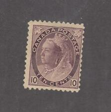 CANADA # 83 F-MH 10cts NUMERAL ISSUE CAT VALUE $200