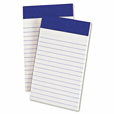 Ampad Perforated Writing Pad Narrow 3 X 5 White 50 Sheets Dozen 20208